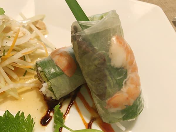 東京 池袋 サイゴン・レストラン|生春巻き