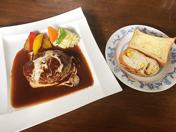 栃木 那須 ベーカリーレストラン・ペニーレイン 那須店|ペニーレインハンバーグ