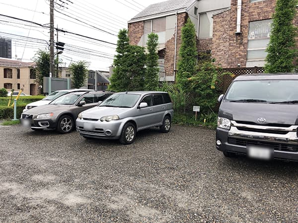 東京 八王子 手打そば 車家 駐車場