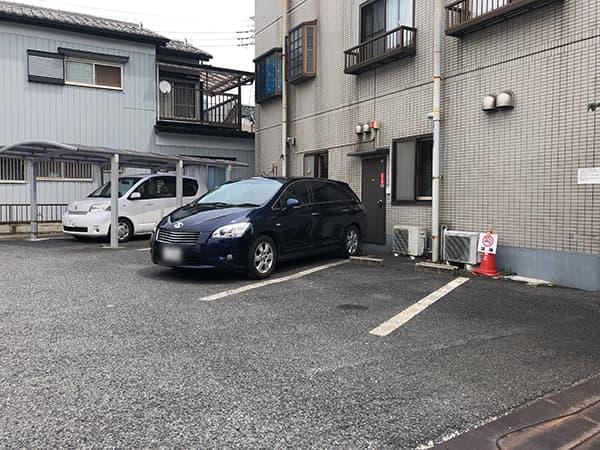埼玉 八潮 Handicraft Works|駐車場
