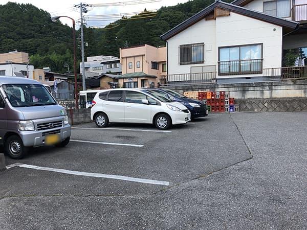 長野 高遠 壱刻|駐車場