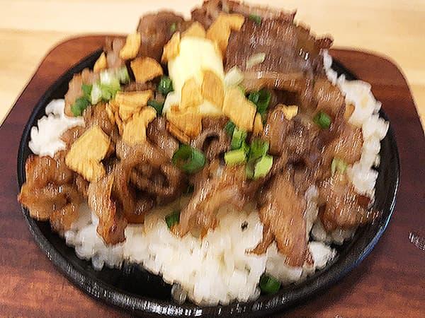 東京 新宿 肉バル BEEF KITCHEN STAND 歌舞伎町店|牛焼肉ガーリックライス