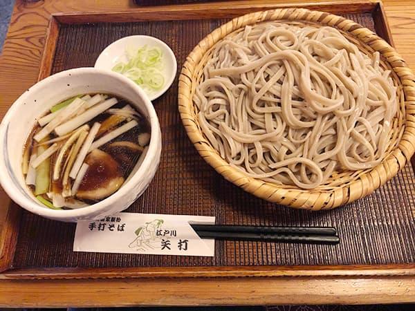 東京 江戸川 矢打|鴨汁そば