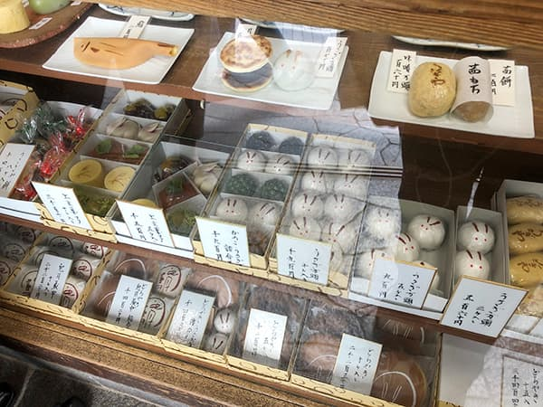 東京 阿佐ヶ谷 うさぎや ショーケース