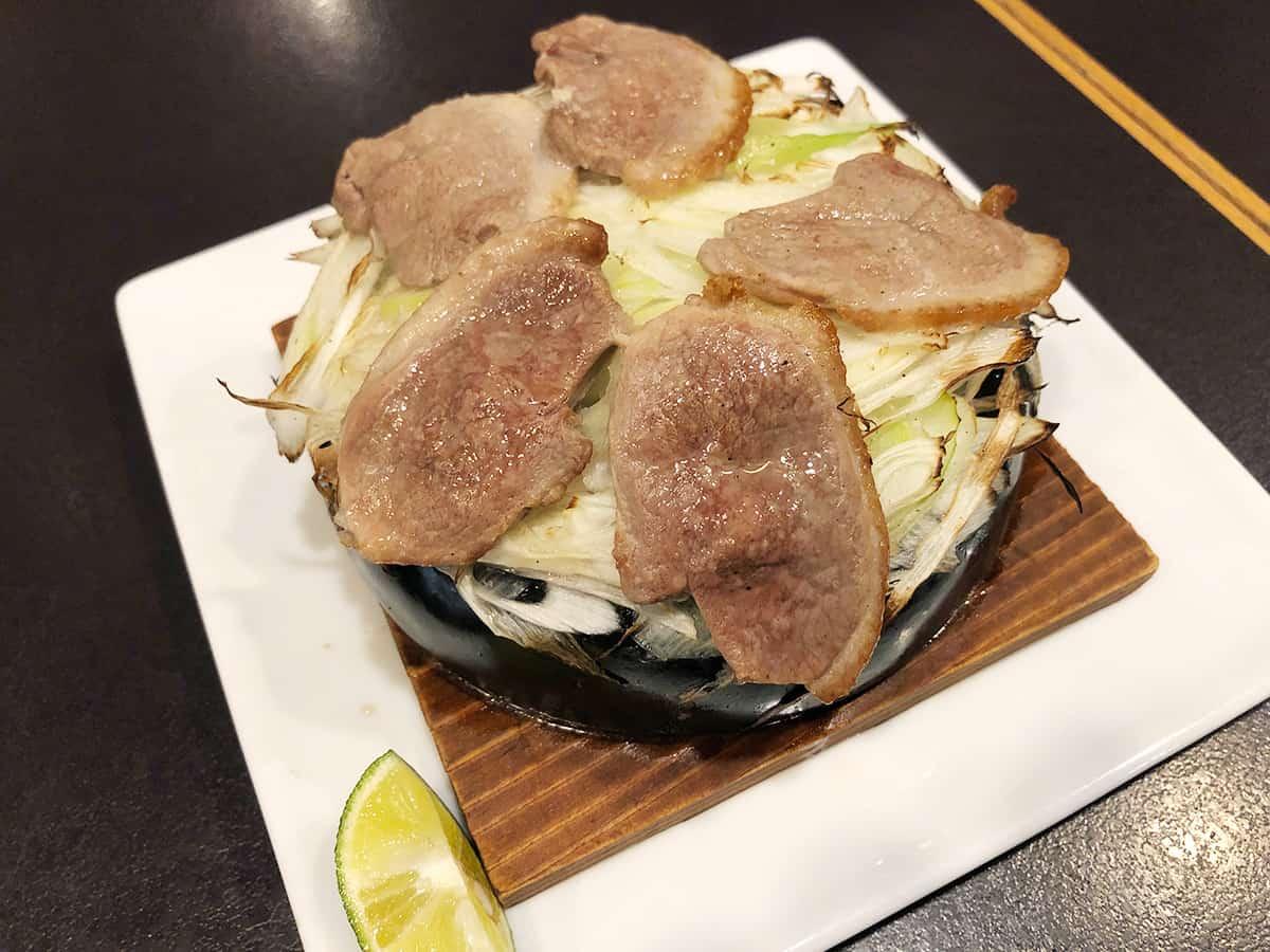 東京 荻窪 本むら庵 荻窪本店|鴨肉と長ねぎの石焼