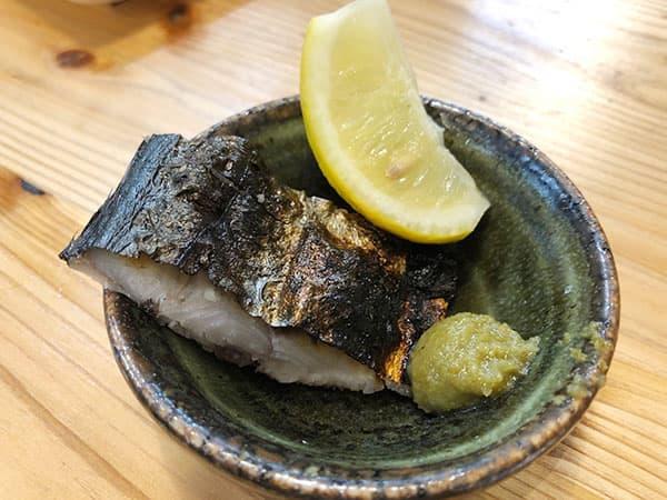 東京 新宿 タカマル鮮魚店 4号館 お通し