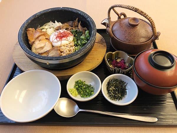 東京 新宿 げんかい食堂 鶏飯定食