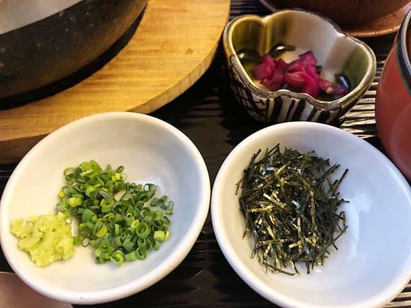 東京 新宿 げんかい食堂 薬味