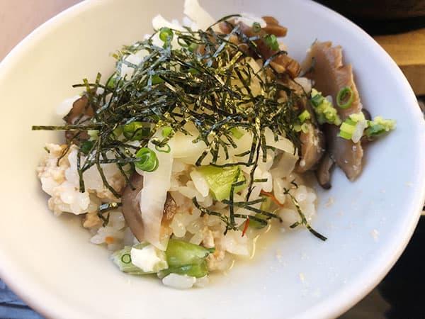東京 新宿 げんかい食堂 鶏飯