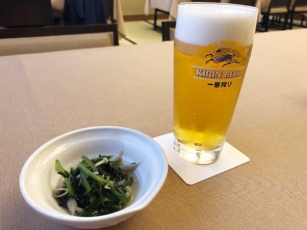 東京 新宿 げんかい食堂 生ビール