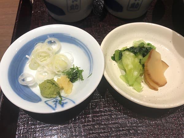 東京 銀座 銀座 佐藤養助|薬味