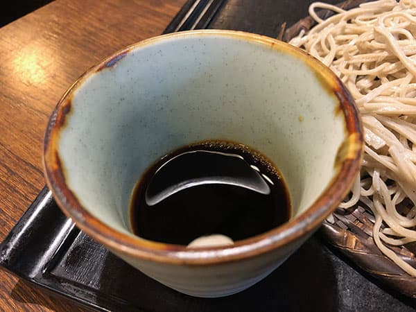 埼玉 深谷 そば遊歩 そばつゆ