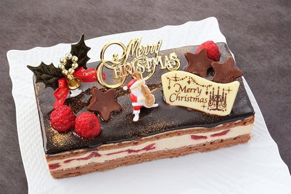 パティスリーTakaYanai ブッシュ・ド・ノエル お届け:12月23日 クリスマスケーキ予約 2019