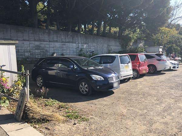埼玉 北本 蕎麦 阿き津|駐車場