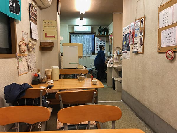埼玉 行田 深町フライ食堂 店内