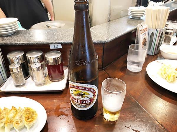 神奈川 川崎 天龍 銀座街店 瓶ビール