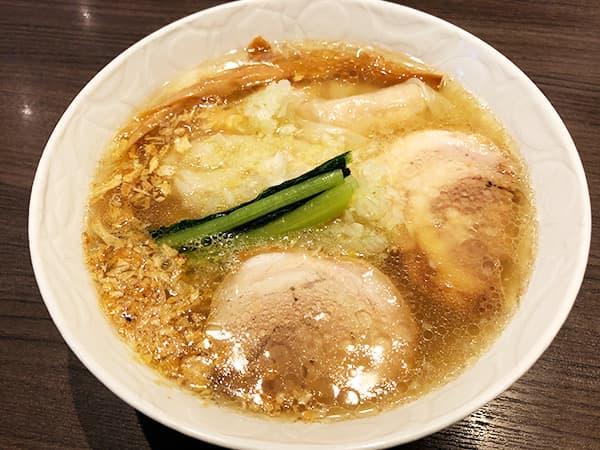 神奈川 戸塚 支那そばや 本店|山水地鶏ワンタン塩らぁ麺