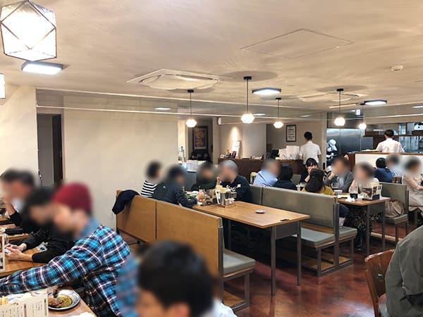 神奈川 横浜 一鶴 横浜西口店|店内