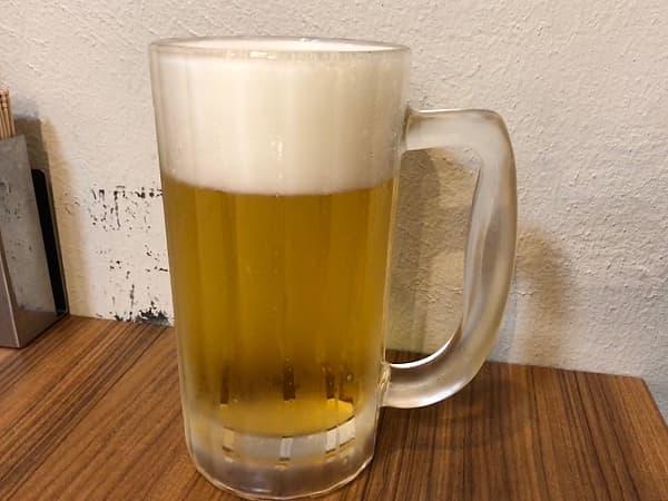 神奈川 横浜 一鶴 横浜西口店|生ビール