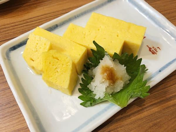神奈川 横浜 一鶴 横浜西口店|厚焼き玉子