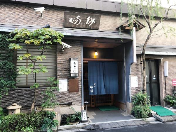 東京 神田 室町砂場|外観