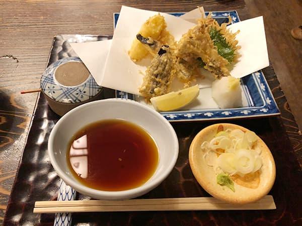 東京 神田 室町砂場|野菜の天ぷら