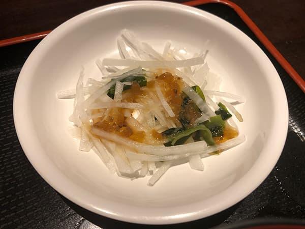 東京 日本橋 お多幸 本店|サラダ