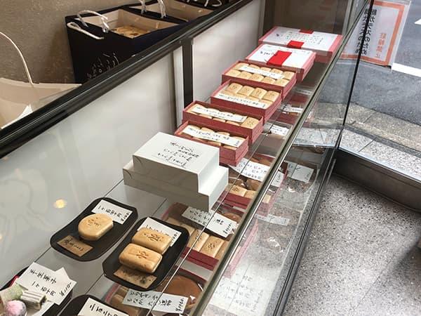 東京 日本橋 うさぎや 本店|店内
