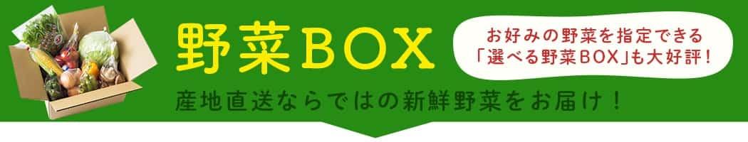 野菜ボックス|JAタウン