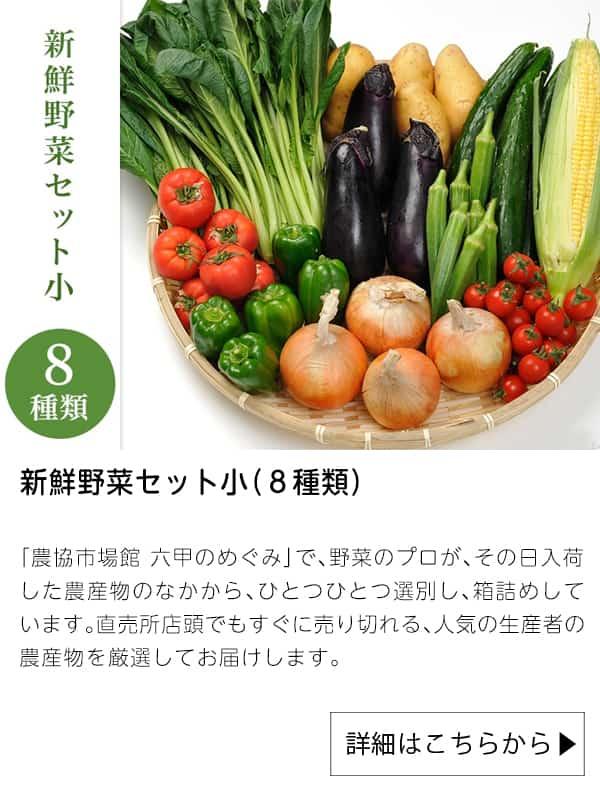 新鮮野菜セット小(8種類)|JAタウン