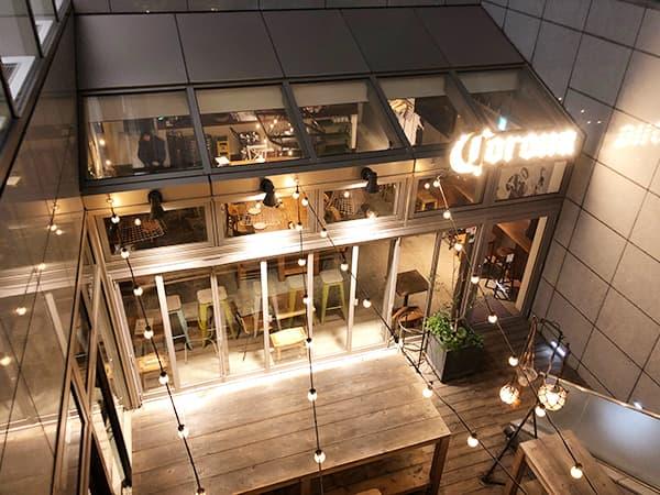 東京 室町 ムロマチカフェハチ|外観