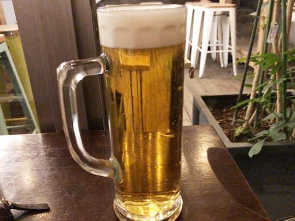 東京 室町 ムロマチカフェハチ|生ビール