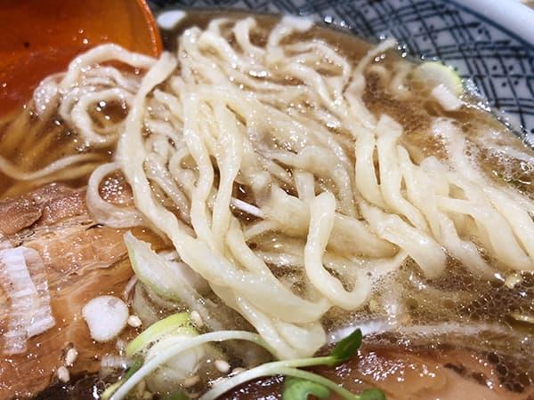 東京 赤羽 手打らーめん満月|麺