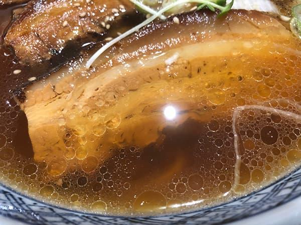 東京 赤羽 手打らーめん満月|スープ