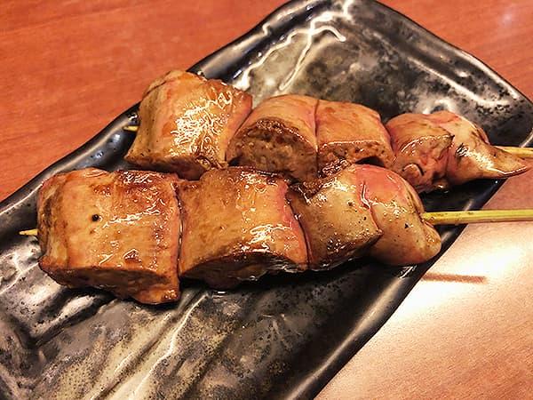 東京 上野 地鶏屋ごくう 上野店|レバー