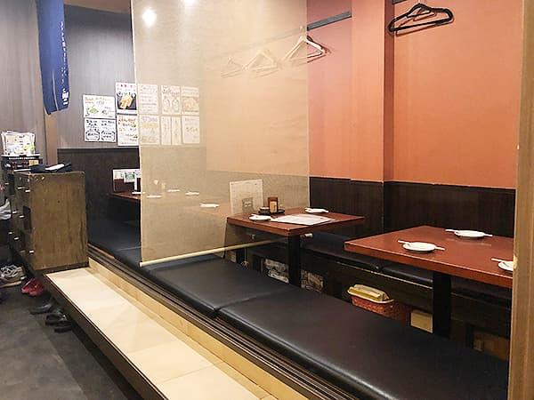 東京 上野 地鶏屋ごくう 上野店|店内