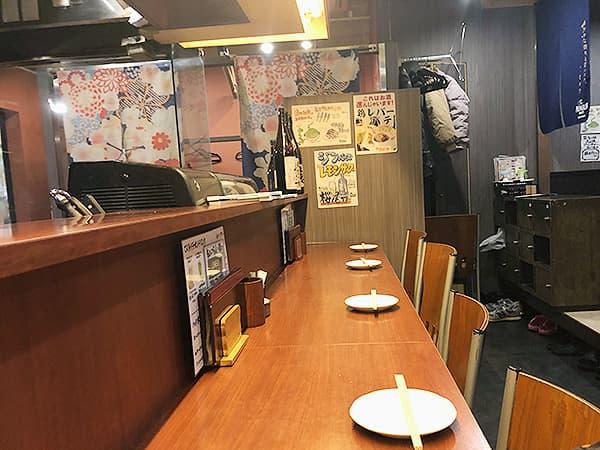 東京 上野 地鶏屋ごくう 上野店|カウンター