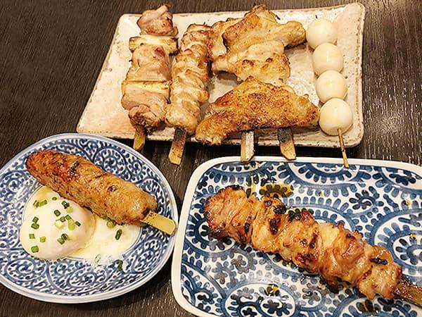 東京 新橋 地鶏屋|地鶏屋特選盛り合わせ