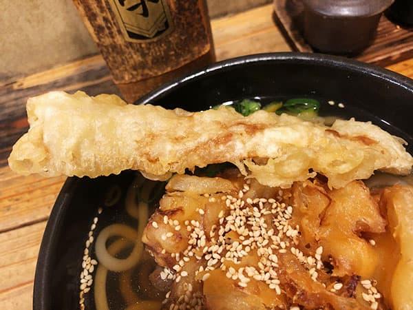 東京 神田 ゆず屋製麺所|ちくわ天