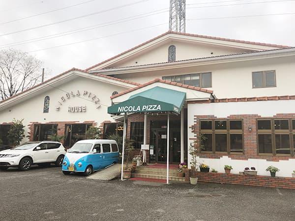 東京 福生 Pizza&イタリアンレストラン NICOLA 外観