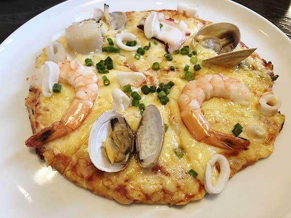 東京 福生 Pizza&イタリアンレストラン NICOLA|シーフードピザ