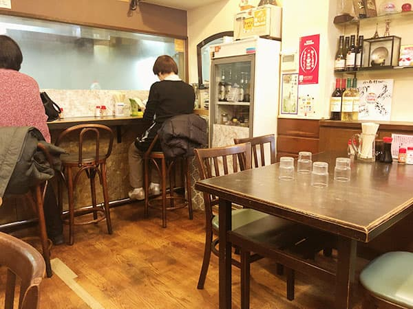 東京 人形町 洋食 小春軒|店内