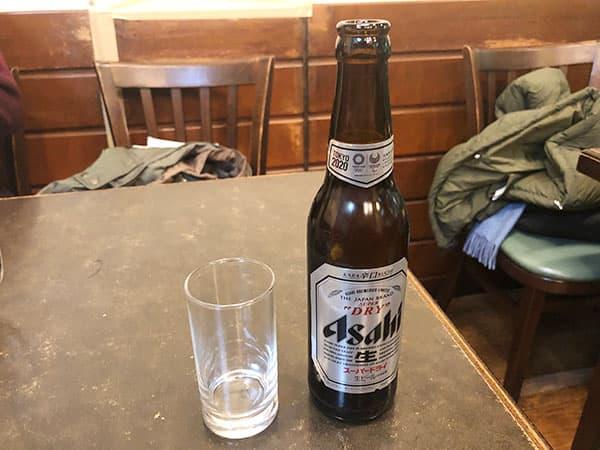 東京 人形町 洋食 小春軒|ビール