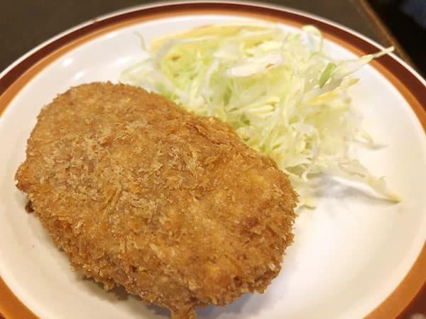 東京 人形町 洋食 小春軒|コロッケ