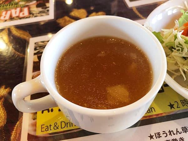 埼玉 南大塚 クマリ ラソイ|スープ