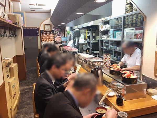 東京 小伝馬町 寿司富|店内