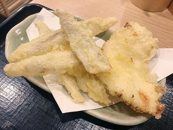 東京 神田 博多うどん はし田たい吉 神田店|天ぷら