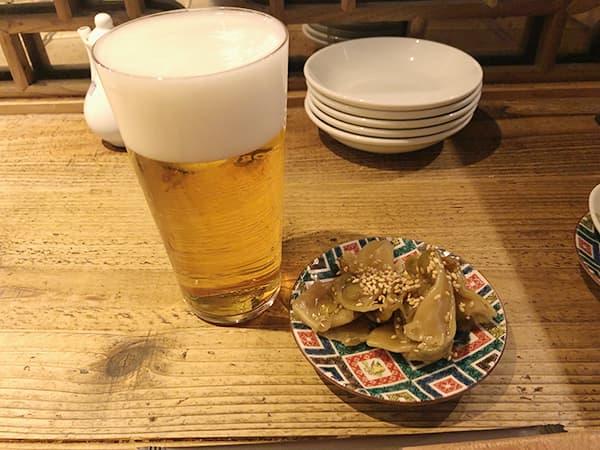 東京 神田 小籠包マニア|生ビール