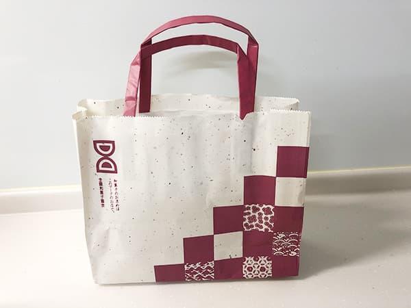 東京 小伝馬町 梅花亭 小伝馬町店|包装紙
