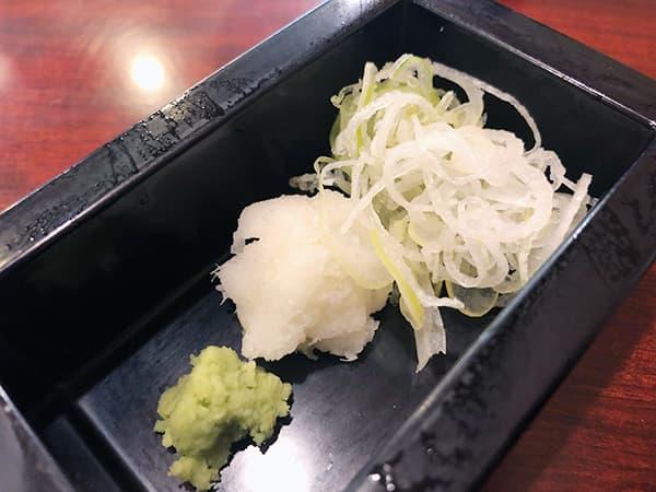 東京 上野 心洗庵|薬味